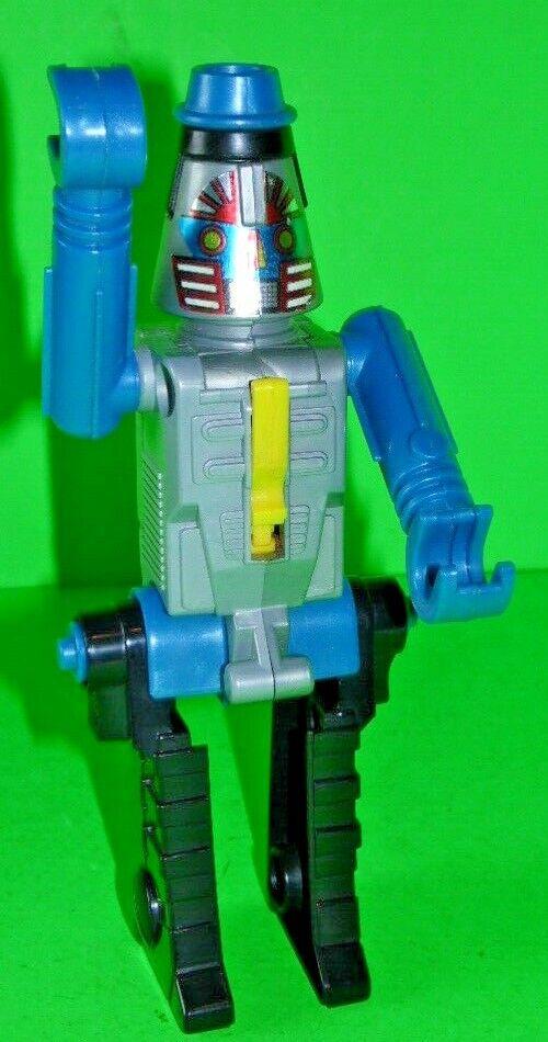 Vintage 1984 GoBots Arco Cap Gun Robot Action Figure Toy RARE blueE VERSION