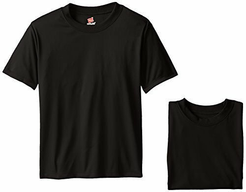 Hanes Select SZ//Color. Boys 8-20 Big Cool DRI Performance T-Shirt Pack of 3