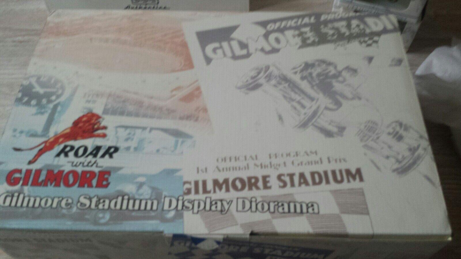 negozio online GMP 1 43 Gilmore Gilmore Gilmore Stadium & 5 Set auto 1 43  acquista la qualità autentica al 100%