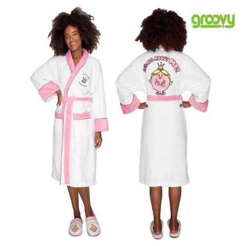 Women Little Miss Princess Sparkle Robe Soft Warm Luxury Bathrobe Dressing Gown