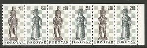 Faroe-Is-1983-Chessmen-booklet-pane-Attractive-Art-topical-94a-MNH