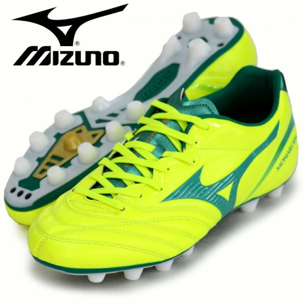 Nuevo Mizuno Mizuno Mizuno Fútbol Soccer Spike Monarcida 2 P1GA1721 Verde Amarillo con  tienda de venta