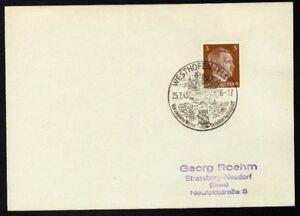 Allemagne-n-706-Yv-cachet-WW2-WESTHOFEN-Timbre-Allemand-Hitler-Mi-782