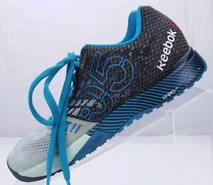 Reebok-CrossFit-Nano-5-0-Running-Breeze-Black-Training-Sneakers-Womens-Sz-6-5