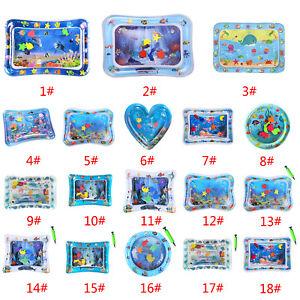 Baby-Kinder-Wassermatte-Aufblasbare-Patted-Wasserspielmatte-Wasser-Spielzeug-DE