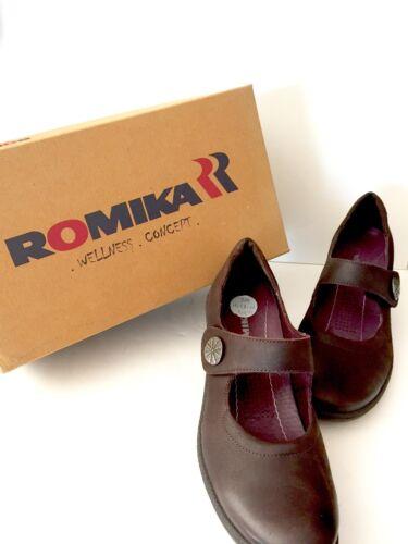Romika  Brown Heels New US 6 M = EU 37