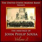 754422300124 Heritage of John Philip Sousa 2 by US Marine Band CD