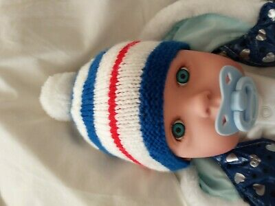 Glasgow Rangers Football Club Baby's Primo Sostenitore Hat Si Adatta A 3-6 Mesi.-mostra Il Titolo Originale Bianco Puro E Traslucido