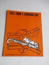 1967 JAZZ FROM A SWINGING ERA PROGRAMME EARL HINES BUD FREEMAN ROY ELDRIDGE