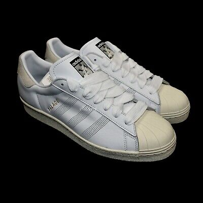 Asumir ambiente Mínimo  NWT Palace x Adidas Superstar White Leather Logo Sneakers Mens 10 ...