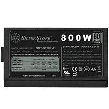 SilverStone Technology Strider Series Fully Modular 800W ATX Power Supply NEW