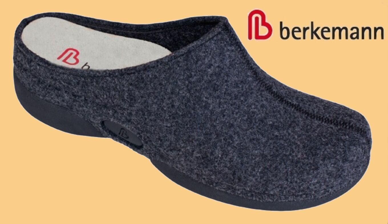 Hausschuhe Pantoffeln Berkemann Berkina Filz Clogs Damen SUPERWEICH Berkina Berkemann div Gr 3fee2e