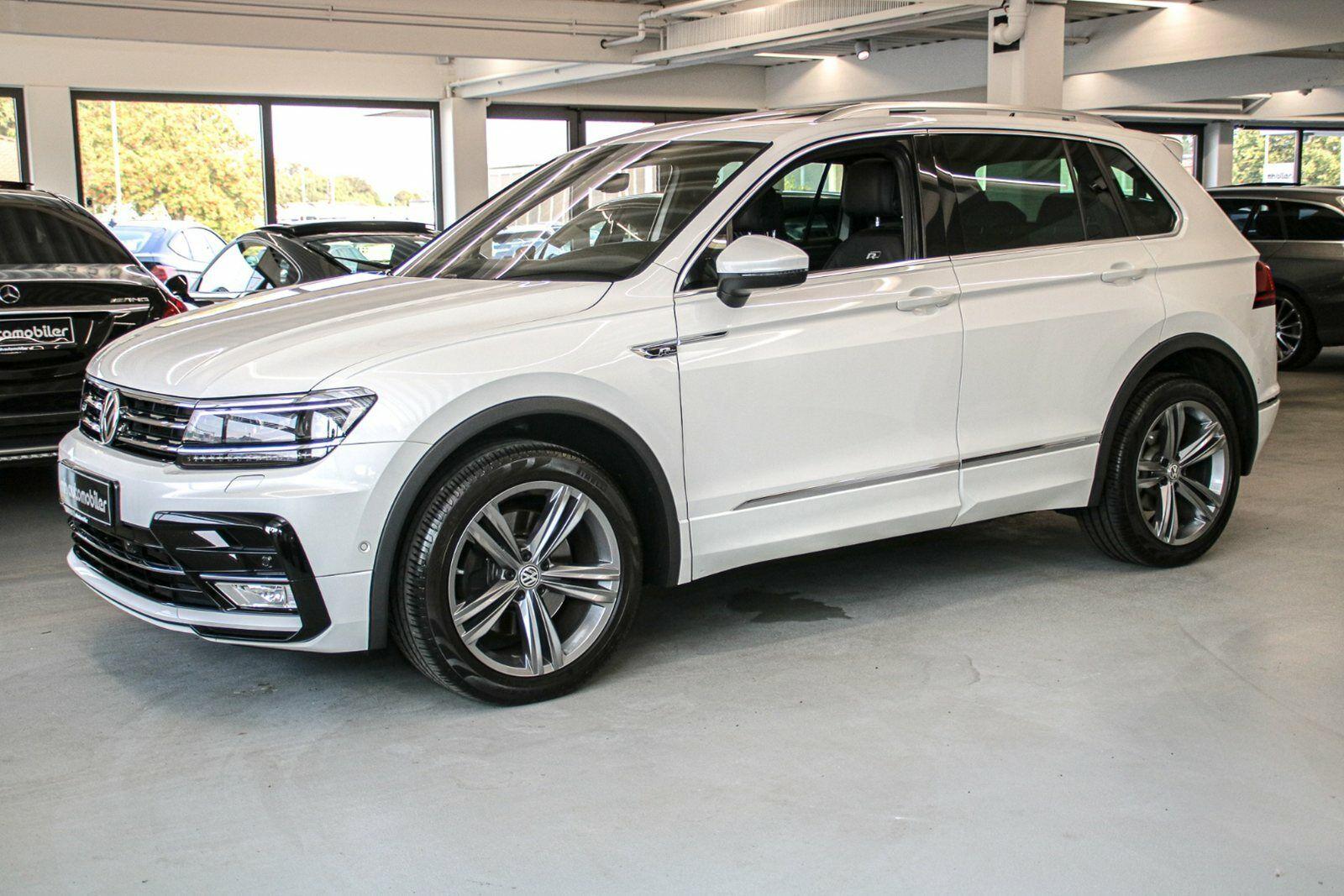 VW Tiguan 2,0 TDi 190 R-line DSG 4M 5d - 479.900 kr.
