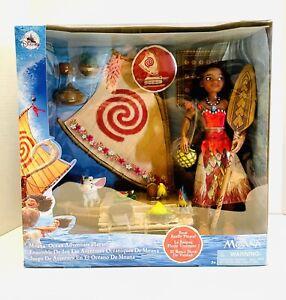 Disney Store Moana Ocean Adventure Classic Doll Play Set NEW 2021