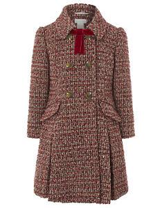 Girls-Monsoon-Amber-School-Tweed-Children-Kids-Coat-Jacket-Age-3-13-Years