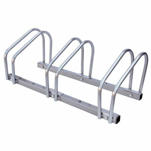 2//3//4 Bike Floor Wall Mount Bicycle Cycle Rack Storage Locking Stand Garage Shed