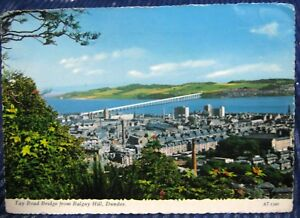 Scotland-Tay-Road-Bridge-from-Balgay-Hill-Dundee-posted-1970