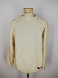 CHAMBERS-MAGLIONE-DI-LANA-MADE-IN-ITALY-Cardigan-Sweater-Jumper-Tg-XL-Uomo