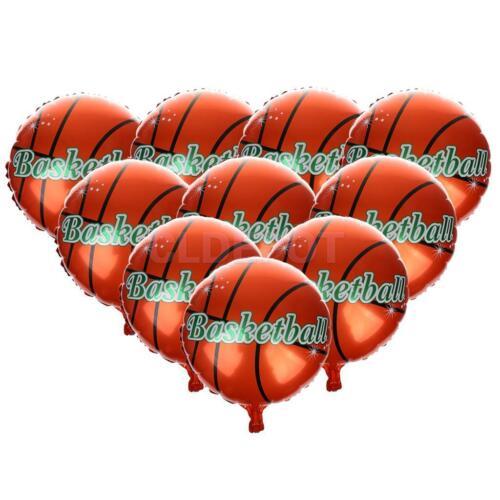 Football Basketball Theme Foil Helium Balloon Boys Birthday Party Decor