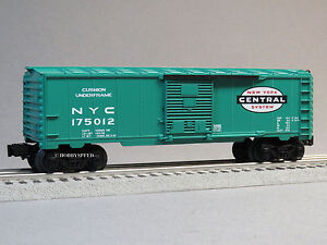 LIONEL-NEW-YORK-CENTRAL-BOXCAR-O-GAUGE-OPENING-DOORS-train-nyc-6-82984-B-NEW