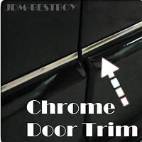 3 Meters (120) Chrome Side Door Cover Protection Molding Trim D.i.y. Diy