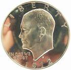 1972-s Silver Eisenhower Dollar PCGS Pr69dcam