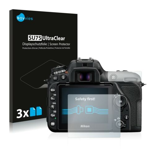 Pellicola di protezione schermo 6x per Nikon d7500 Pellicola Protettiva Chiara Pellicola Display Pellicola