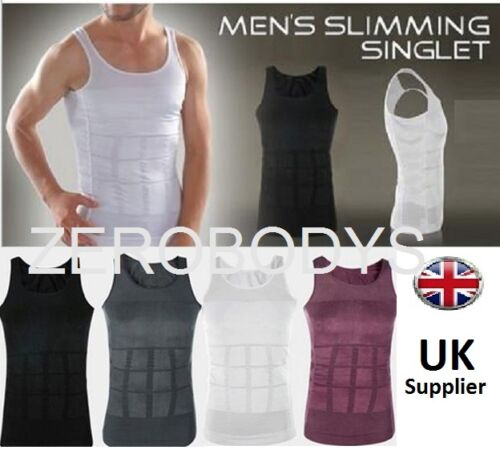 VARIOUS COLORS AVAILABLE Zerobodys SLIMMING BODY SHAPER VESTS LOOK TRIMMER