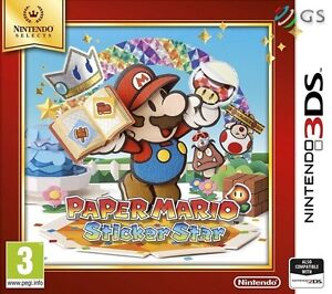 Paper-Mario-Sticker-Star-NS-Nintendo-2DS-amp-3DS-NEW-SEALED-PAL