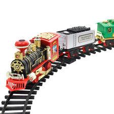 RC Christmas Train Set - Around the Xmas Tree w/ Real Smoke, Music & Lights