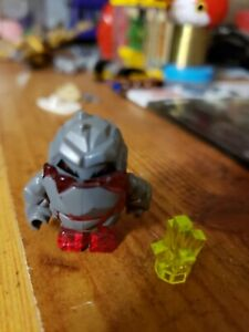 LEGO-Power-Miners-Rock-Monster-Minifigure-Transparent-Red-Meltrox-figure