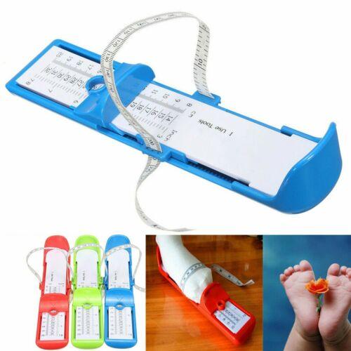 Kids Infant Toddler Baby Foot Measure Gauge Shoes Size Measuring Ruler Tool