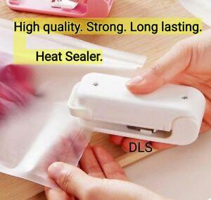 Handy portable mini plastic bag heat sealer high quality strong long lasting