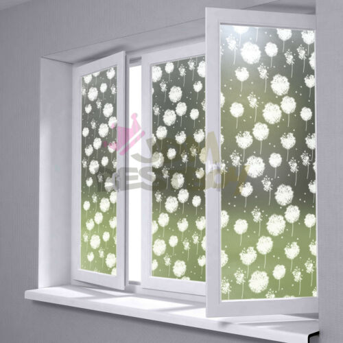 """*12/""""x36/"""" Frosted Film Glass Home Bathroom Window Security Privacy Sticker #5019"""
