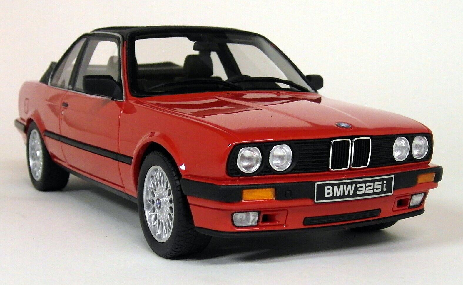 liquidación hasta el 70% Otto escala 1 18 - - - BMW E30 325i TC2 Coche Modelo de Resina Baur 1988 Rojo  100% a estrenar con calidad original.
