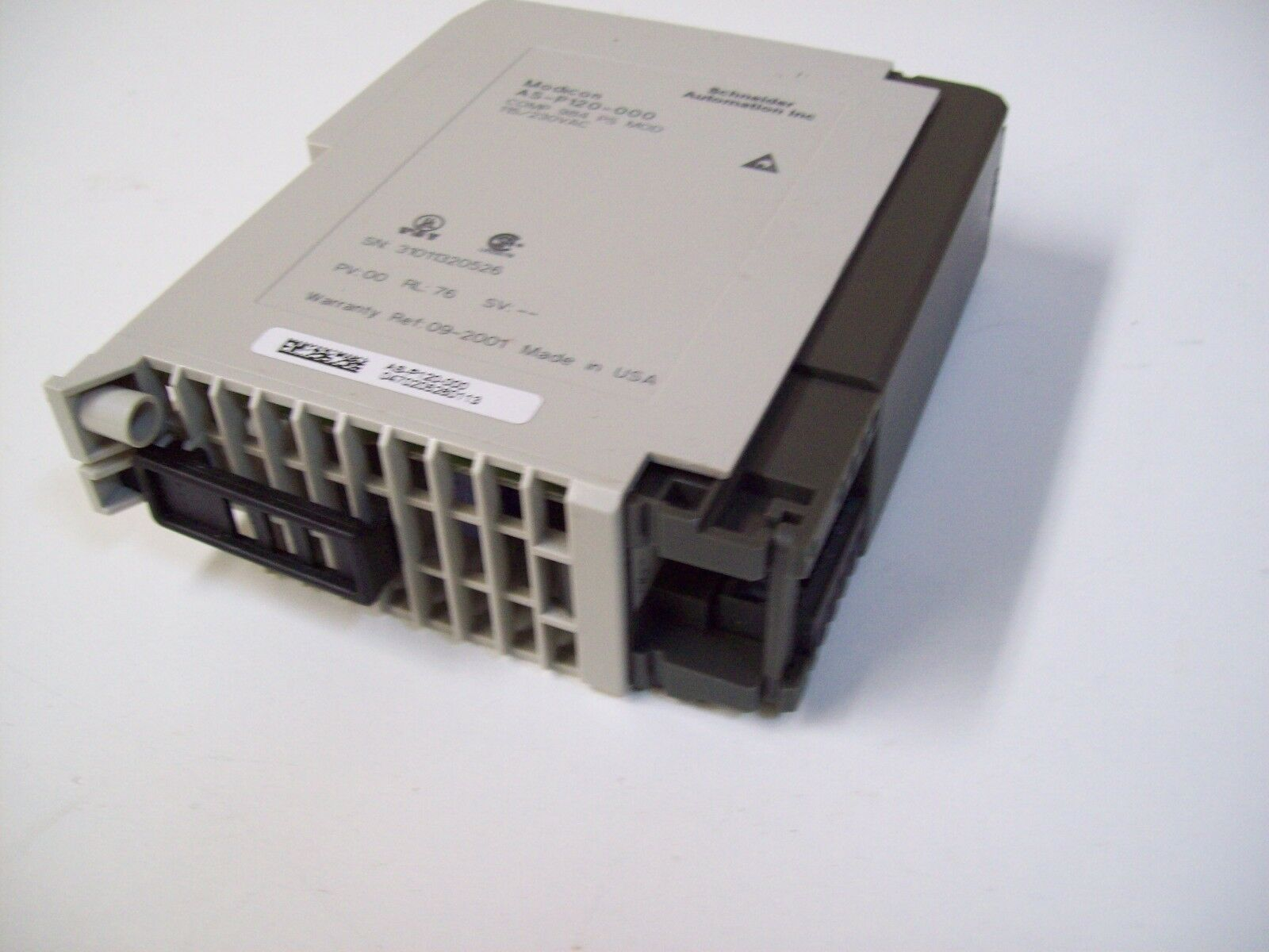 SCHNEIDER AEG MODICON AS-P120-000 POWER SUPPLY MODULE - USED - FREE SHIPPING
