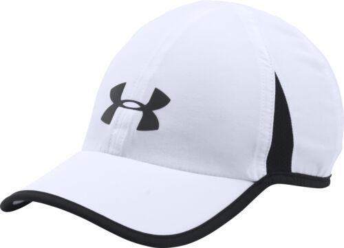 Under Armour Shadow 4.0 Running Cap White Built dans Sweatband Reflective détails