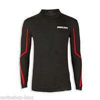 Ducati 98102510 Corse Funktionsshirt Langarmshirt ohne Nähte schwarz 2014