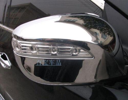 ABS Chrome Side Mirror Cover Trim 2pcs For Hyundai Tucson ix35 2010-2014