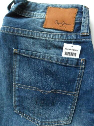 PEPE JEANS Heston Men/'s Regular Fit Straight Leg New Various Colours /& Sizes