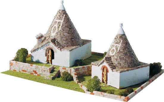 Trulli Pugliesi, Alberobello Italia 2800 pcs Construction Kit 1 80 Model 1257