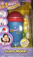 Ez 2 Make Icee Slushy Maker Child Cook Set Kids Cool Treats Cooking Flavored Ice