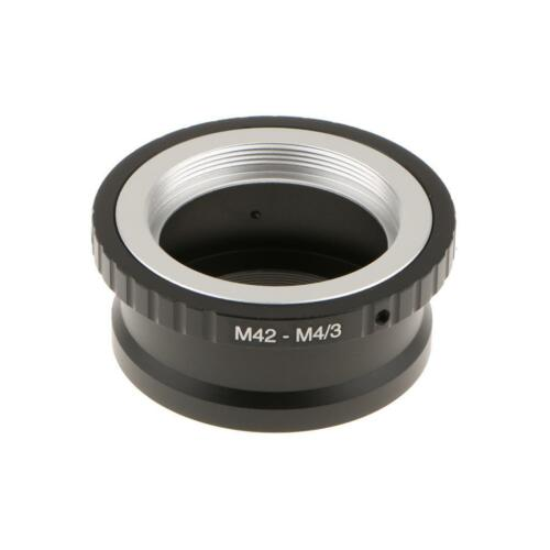Lens Adapter Converter for M42 Lens Mount to M43 Panasonic GF3 MFT Camera