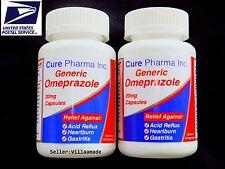 OTC OMEPRAZOLE 20 mg 120 Capsules (ULTRA Brand) Acid Reducer Exp May/2019 SEALED