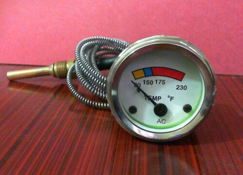 Ford Fordson Dexta Temperature Gauge 100-230 F
