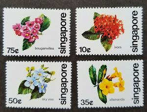 [SJ] Singapore Flowers 1980 Flora Plant (stamp) MNH