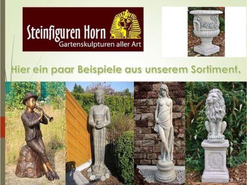 ANTIK BUDDHA PATINIERT GROß aus STEINGUß für KOI TEICH 4014 GARTEN FIGUR NEU