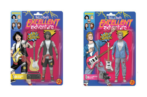 "FIGBIZ BILL AND TED/'S EXCELLENT ADVENTURE 5/"" ACTION FIGURE PAIR INCENDIUM"