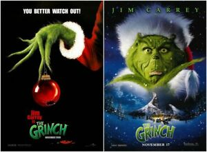 How The Grinch Stole Christmas Movie.Details About Dr Seuss How The Grinch Stole Christmas Movie 2000 Poster 13x20 24x36 27x40