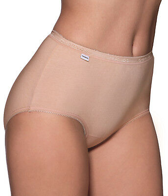 Charnos 138910 2 Pack Maxi Brief in White